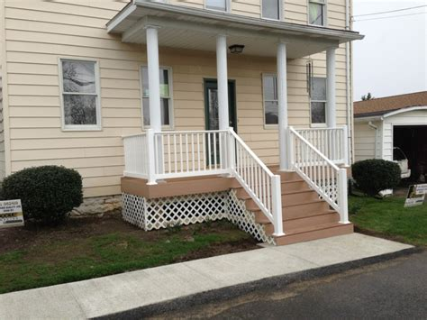 front porch inspiring front porch design with white columns combine with white balusters