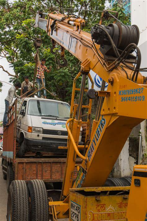 volkswagen service center mumbai car wrecked while driving through india stuck in mumbai