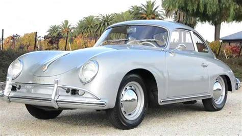porsche 356 coupe 1957 porsche 356 coupe silver youtube