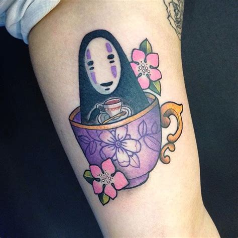 face tattoo app xavier no in a teacup by kroll