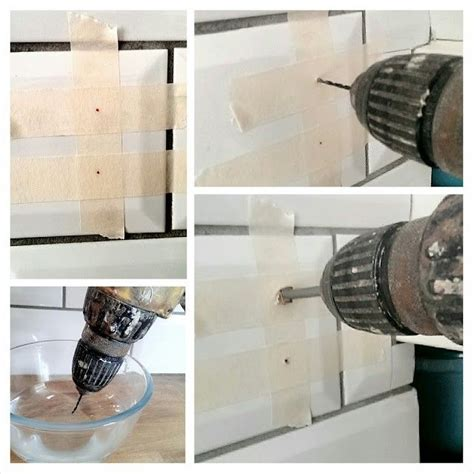how to drill through bathroom tiles 25 best ideas about tile projects on pinterest mosaic