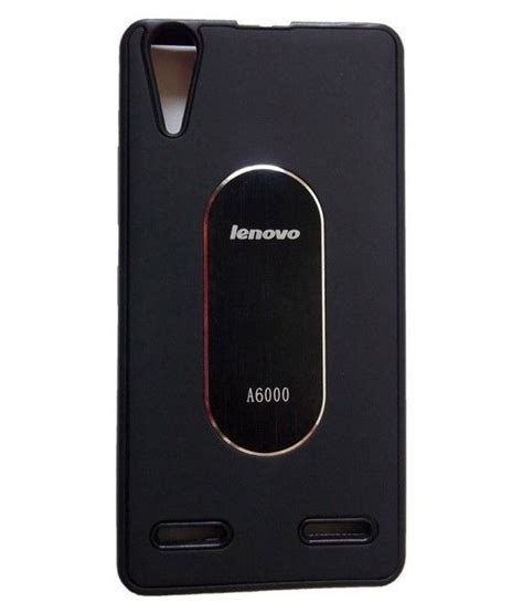 Casing Lenovo A6000 Feminim Custom lenovo a6000 plain cases ofm black plain back covers at low prices snapdeal india