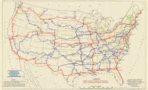 us map w highways a map of the proposed u s highway network