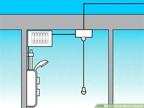 wiring diagram for an electric shower