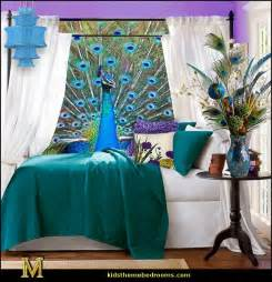 Peacock Blue Duvet Welcome Home Peacock Bedroom And Bathroom On Pinterest
