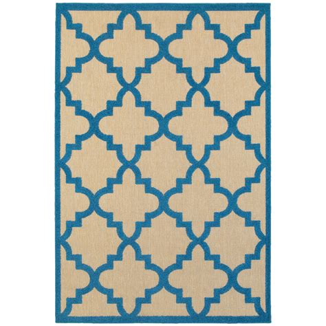 outdoor rug 10 x 10 weavers cayman 7 10 quot x 10 10 quot outdoor sand blue rectangle rug darvin furniture rugs