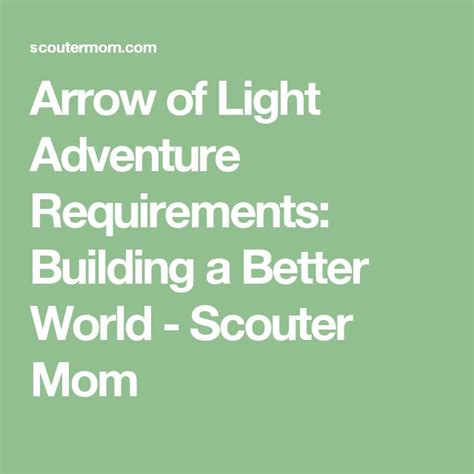 arrow of light requirements 2017 1000 images about cub scouts on pinterest pinewood