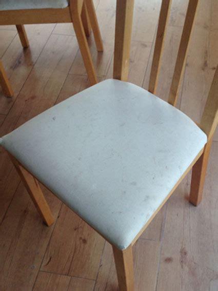 umpolstern eines esszimmer stuhls stuhl neu beziehen affordable click to enlarge image with