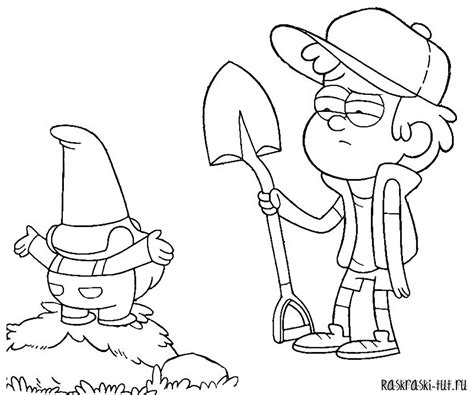 bill gravity falls coloring pages coloring pages
