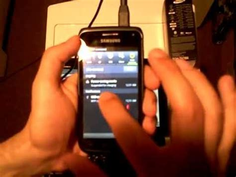 reset samsung exhibit 2 how to turn the samsung galaxy w exhibit ii sgh t679m into