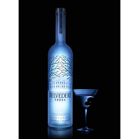 Belvedere Vodka Light Up Luminous