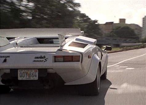 Lamborghini Miami Vice Imcdb Org Lamborghini Countach Lp 500 S In Quot Miami Vice