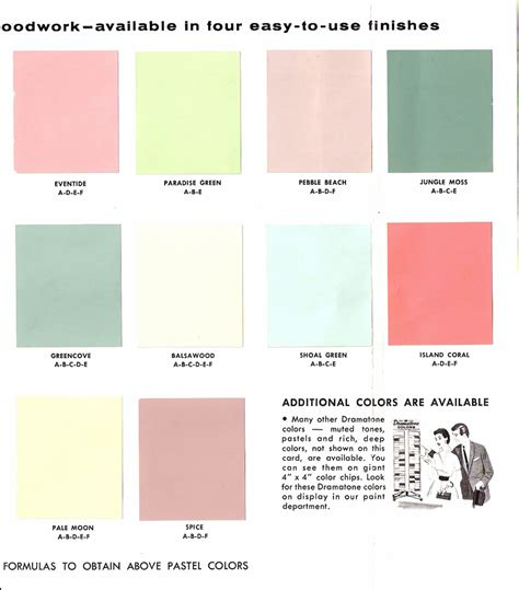 glidden paint colors the grove 1950s glidden interior paint