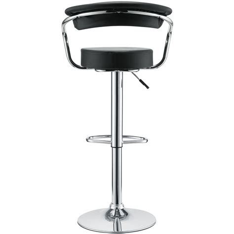 Modway Diner Bar Stool by Modway Diner Bar Stool Set Of 2 Black Mw Eei 930 Blk At