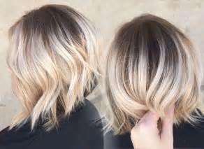 balayage cheveux courts 2017