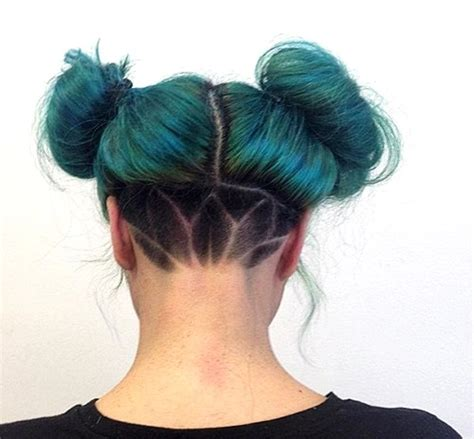 Two Buns Hairstyle Hair by 50 S Undercut Hairstyles To Make A Real Statement