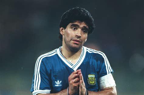 Diego Maradona Diego Maradona At World Cup 1990 The Weeping