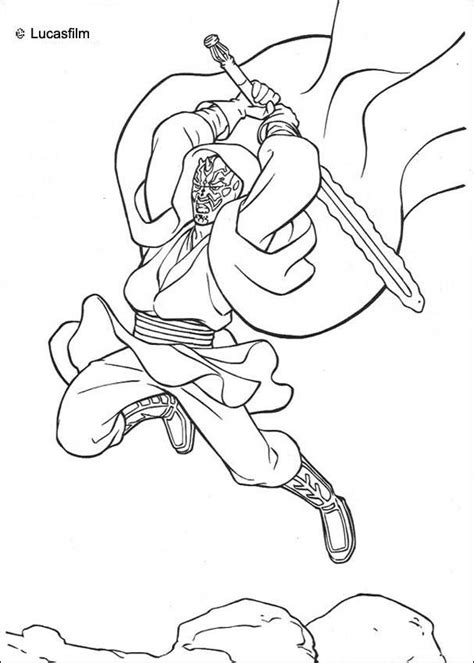 sith coloring pages the sith darth maul coloring pages hellokids