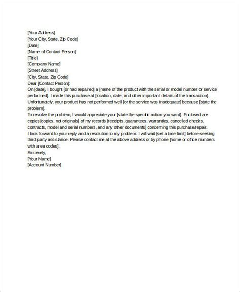 Service Letter File Ftc Complaint Images