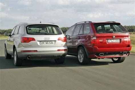 Bmw X5 Vs Audi Q7 by Ml Vs X5 Vs Q7 Autos Post