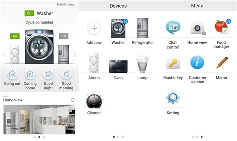 applying samsung smart home and additions now available on