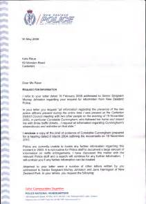 Cover Letter Format Nz by Transparency In New Zealand Kiwikileaks More Lies From