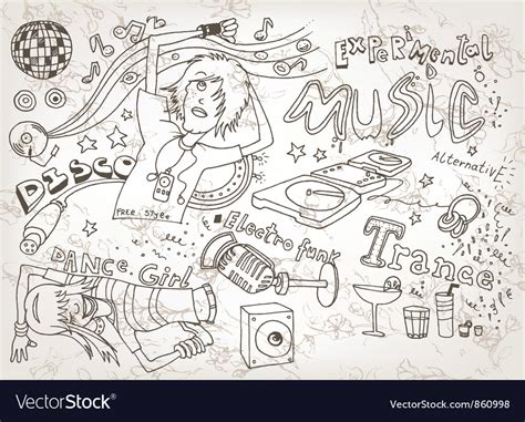 doodle free alternative doodles royalty free vector image