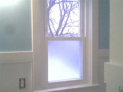 frosted windows for bathrooms my little yellow bungalow