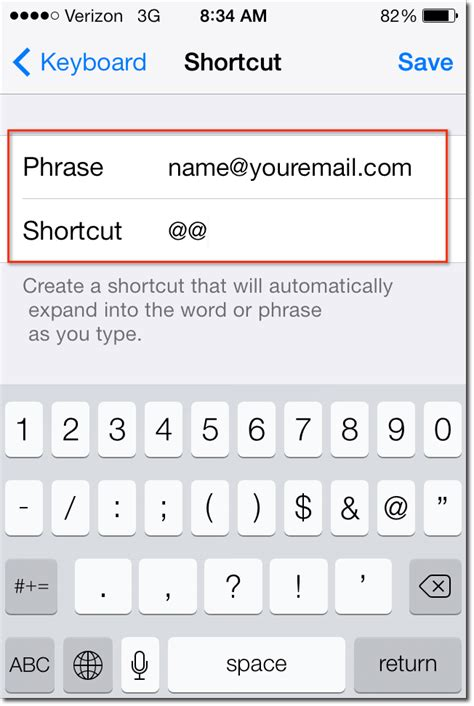 iphone keyboard shortcuts cellphone hack how to setup keyboard shortcuts to save you time efficient skills