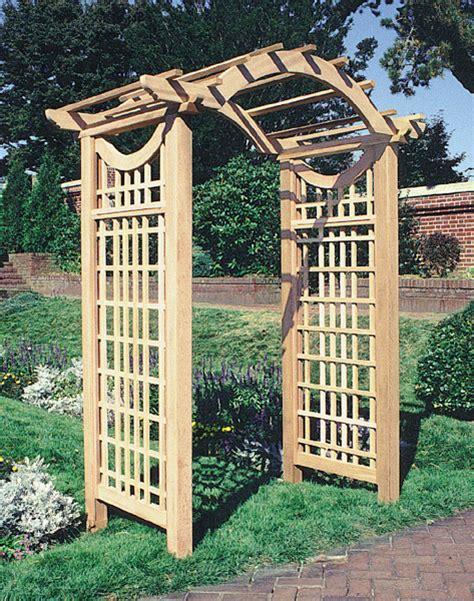 Trellis Structures The Garden Arbor By Trellis Structures