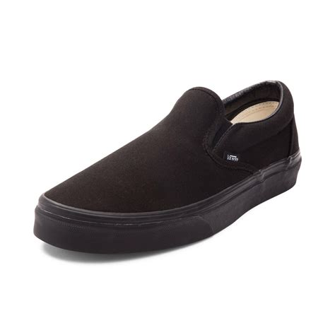 Vans Slipon vans slip on skate shoe black 499279
