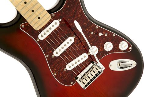 Squier Standard Stratocaster Electric Guitar Antique Burst squier 174 standard stratocaster 174 maple fingerboard antique burst squier electric guitars