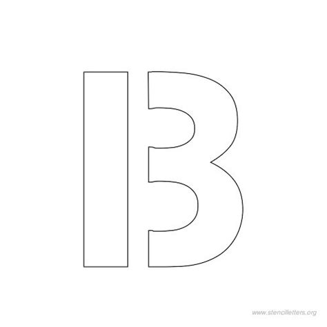 printable 1 inch letter stencils free worksheets 187 abc stencils printable free math