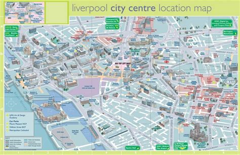 printable map leeds city centre liverpool tourist map