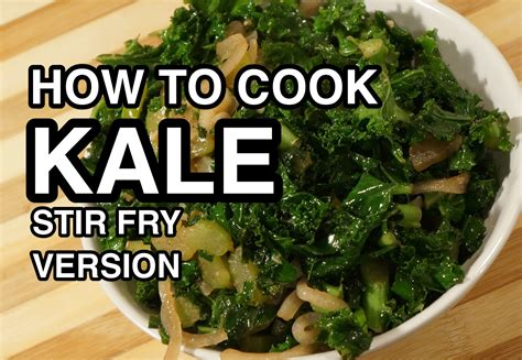 how to cook kale stir fry version calovo nero youtube