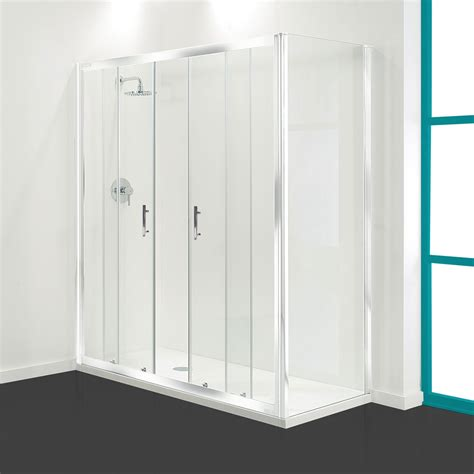 Coram Shower Doors Coram Optima Sliding Shower Door White Available Now
