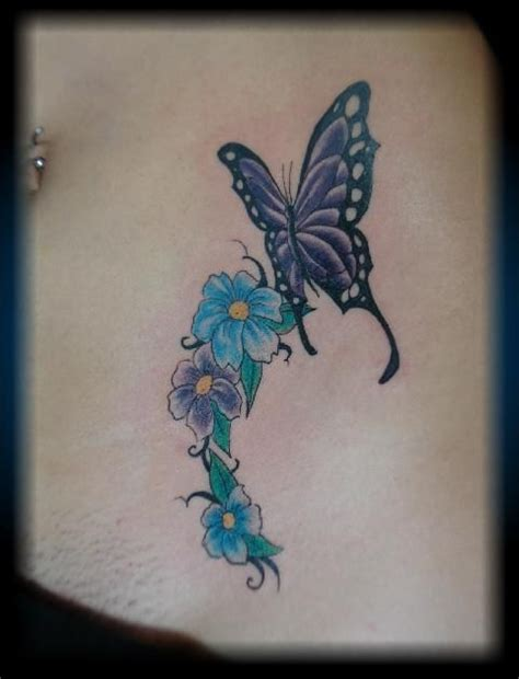 butterfly tattoo with numbers women tattoo color butterfly girly tattoo by byron