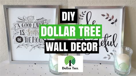 diy dollar tree home decor dollar tree diy wall decor diy room decor collab youtube