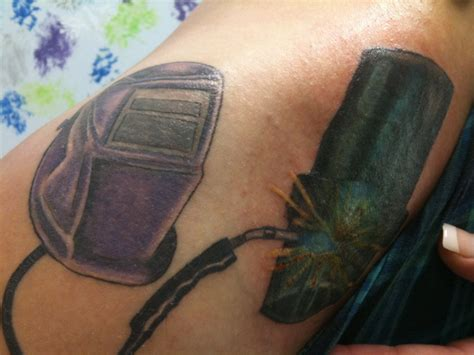 welding tattoo by amurisan on deviantart