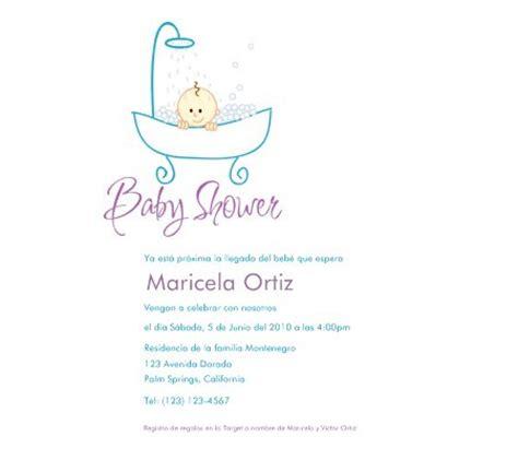 baby shower invitations in spanish disney baby