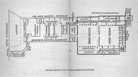 victoria and albert museum floor plan architectural history of the v a 1863 1873 victoria