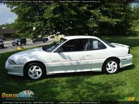 Pontiac Grand Am 1994 1994 Pontiac Grand Am Gt Coupe Bright White Gray