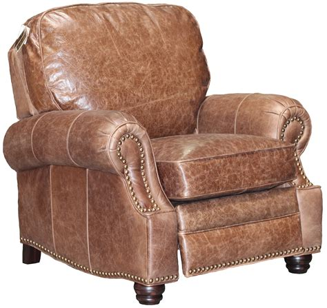 Barcalounger Longhorn Ii Recliner by New Barcalounger Longhorn Ii Brown Leather Manual