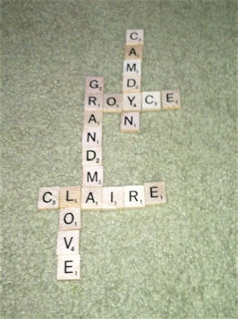 rev scrabble hoyby crafts s day gift scrabble tile plaque