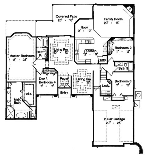 1 story ranch house plans house plans and design house plans single story ranch
