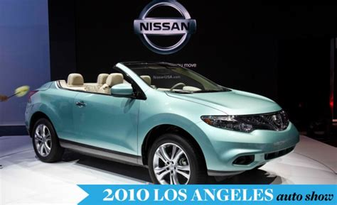 2011 Nissan Murano Crosscabriolet Convertible Official