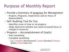 How To Write A Monthly Report Template How To Create Meaningful Monthly Reports