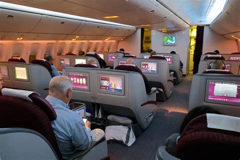 qatar airways business class  overview qr houston doha