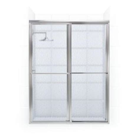 Newport Series 42 In X 70 In Framed Sliding Shower Door Sliding Shower Door Towel Bar