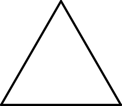 Triangle Blocks large triangle for pattern block set clipart etc